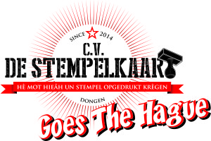 Logo cv De stempelkaart HAAGS pay-off